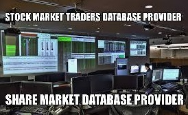 stock market traders database provider in india